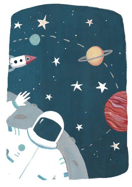 Childhood dream jobs, astronaut