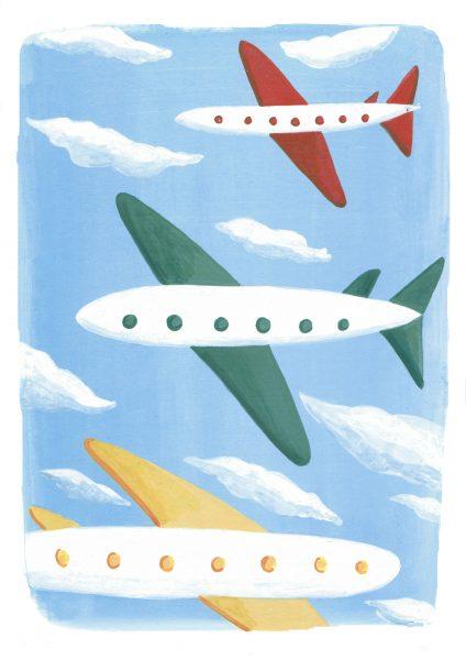 Childhood dream jobs, pilot