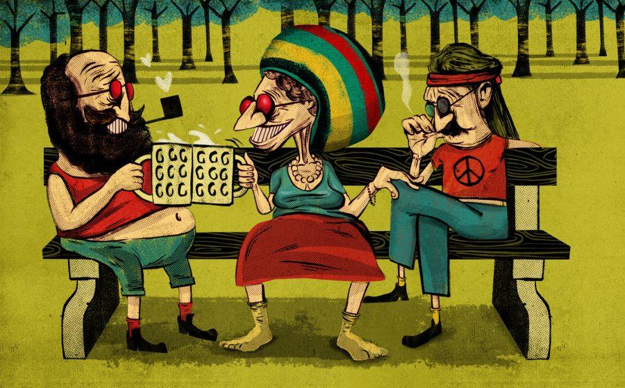 Chilled Senior Citizens