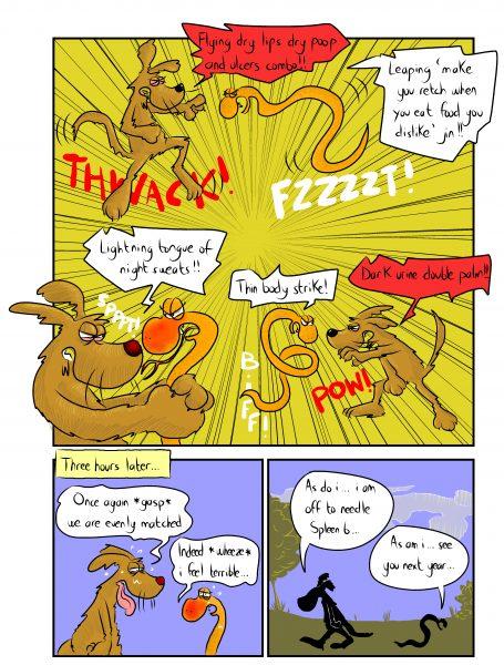 Chinese Medicine Comic