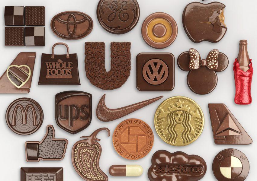 Chocolate Logos / Fortune Magazine