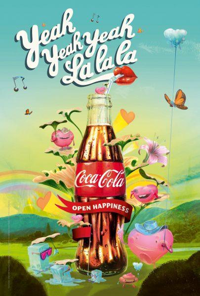Coke Yeah Yeah Yeah La La La Rock