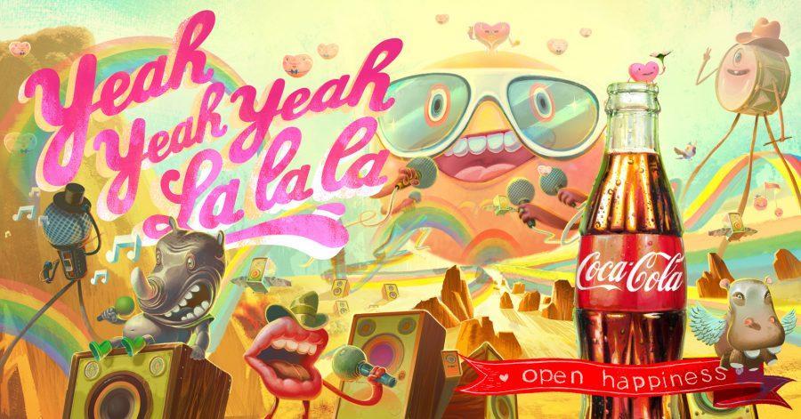 Coke Yeah Yeah Yeah La La La Rock Alternative