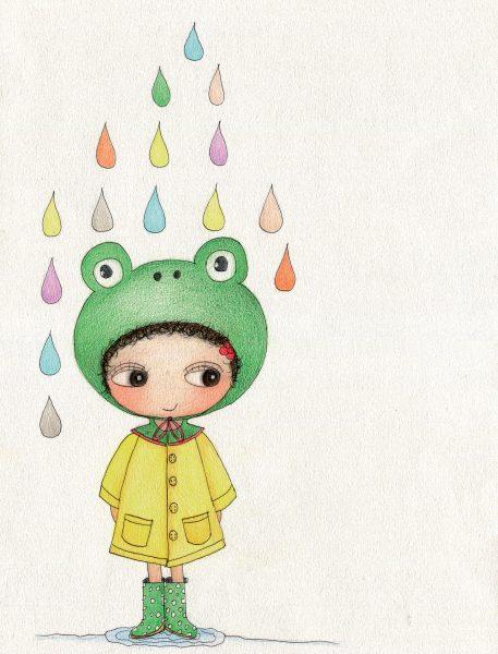 colourful rain