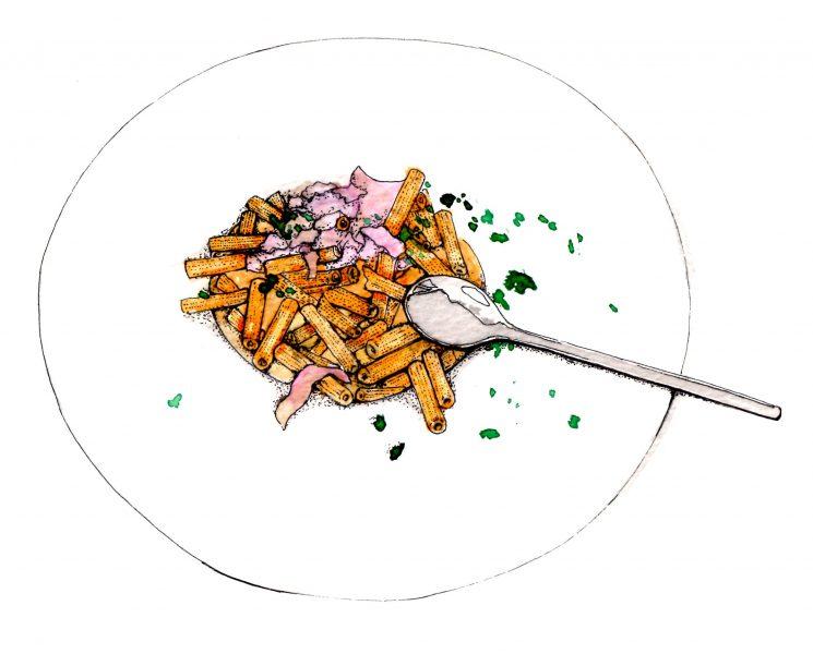 Corsican childrens pasta