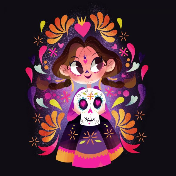 costume girl character