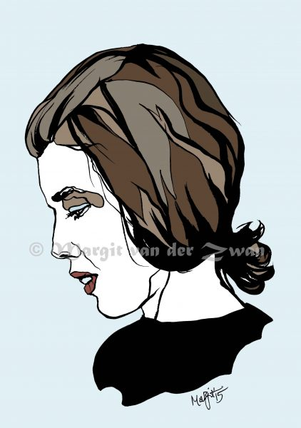 Delia Derbyshire | pen/ink/digital
