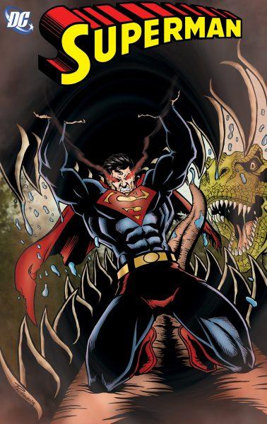 dinosaurs vs. superman dc comics