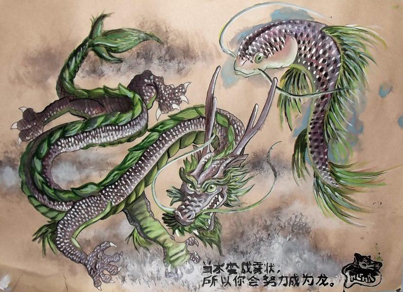 Dragon & Carp