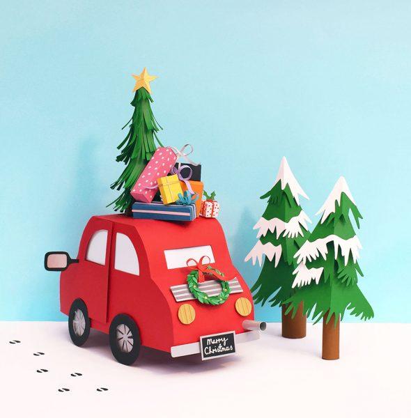 Driving Home for Christmas | Channel 4 Kirstie Allsopp's Handmade Christmas