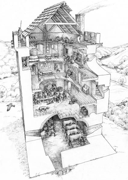 Drumin Tower House