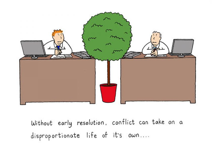 Early conflict resolution.