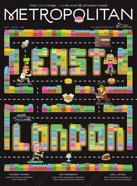 Eurostar Metropolitan Magazine- Cover