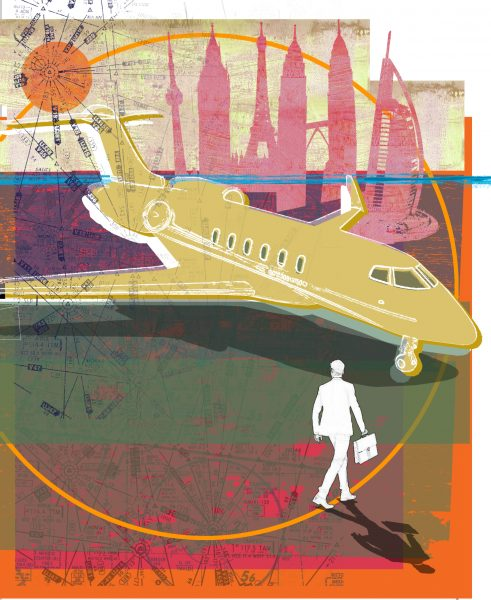 Executive Travel Magazine Flying Private