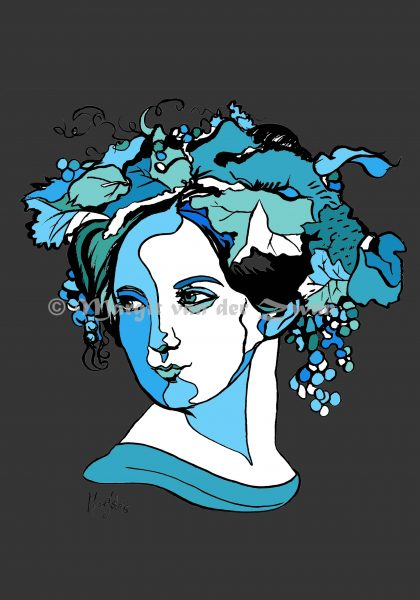 Fanny Mendelssohn | pen/ink/digital