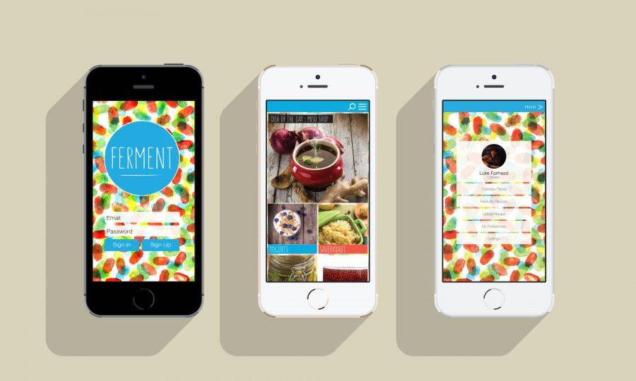 FERMENT: App Mock Up