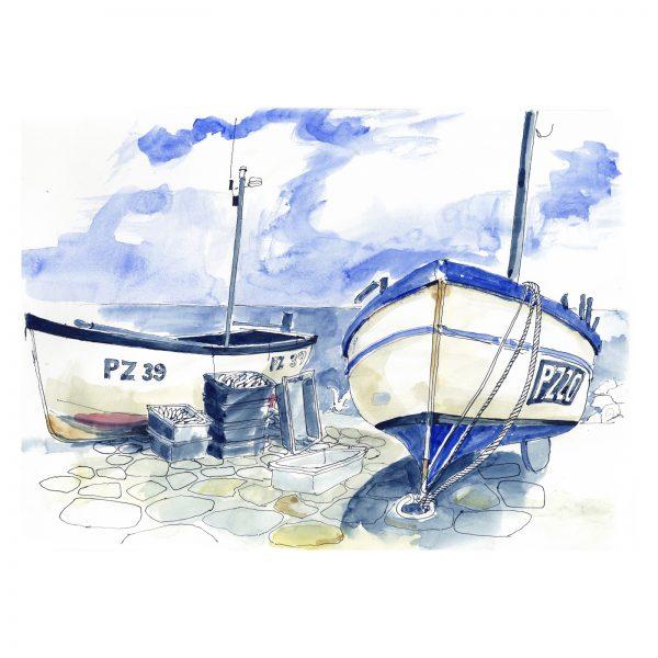 Fishing boats, Cornwall