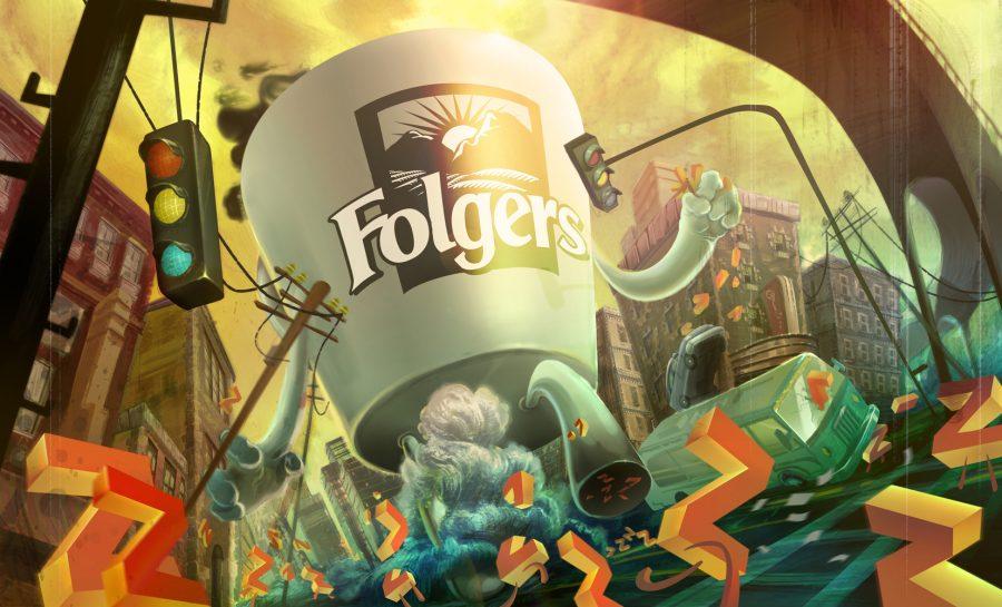 Folgers Coffee City