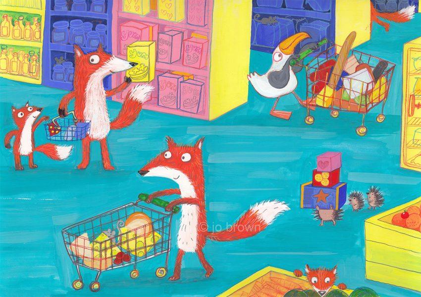 Foxy Supermarket