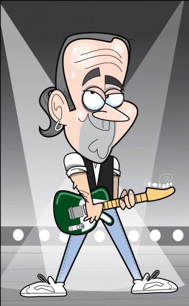 Francus Rossi Caricature