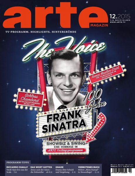 Frank Sinatra / Arte Magazine