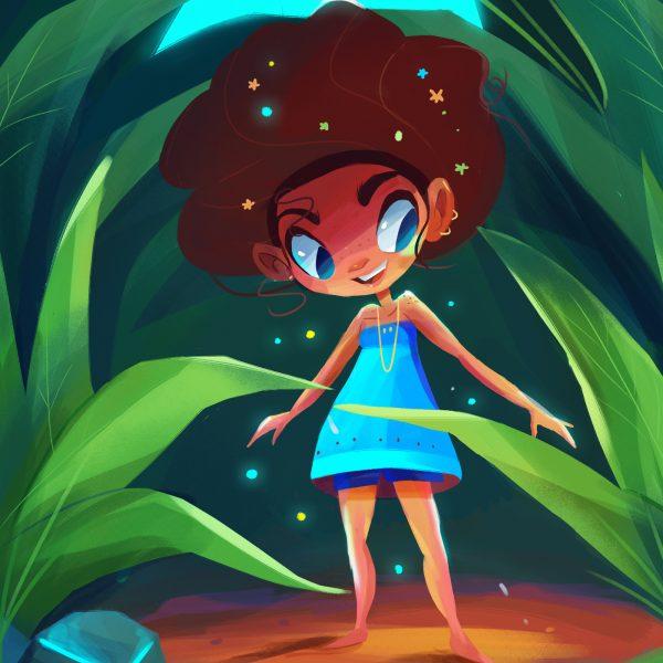 girl character design