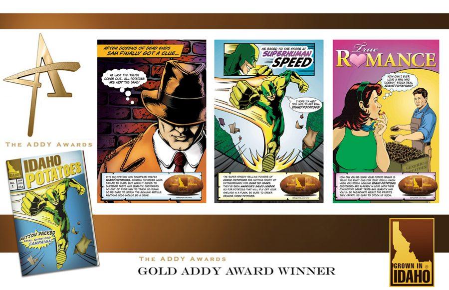 gold addy ward winning campaign idaho potatoes
