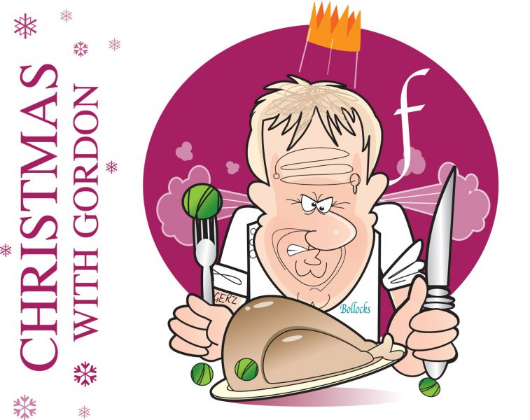 Gordon Ramsay Caricature