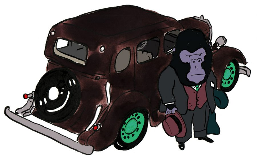 Gorilla Car