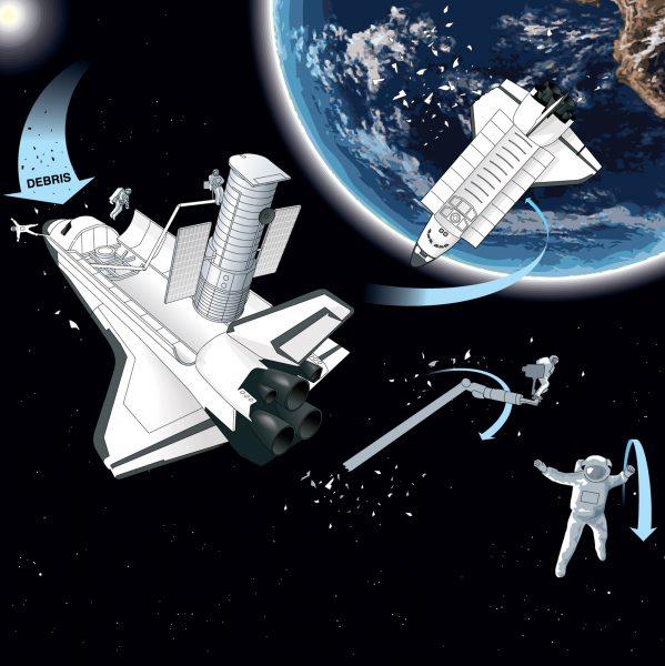 Gravity Movie Scene