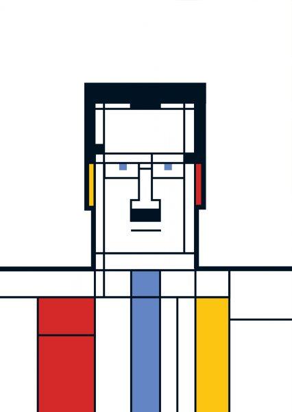 Great Modern Artists: Mondrian
