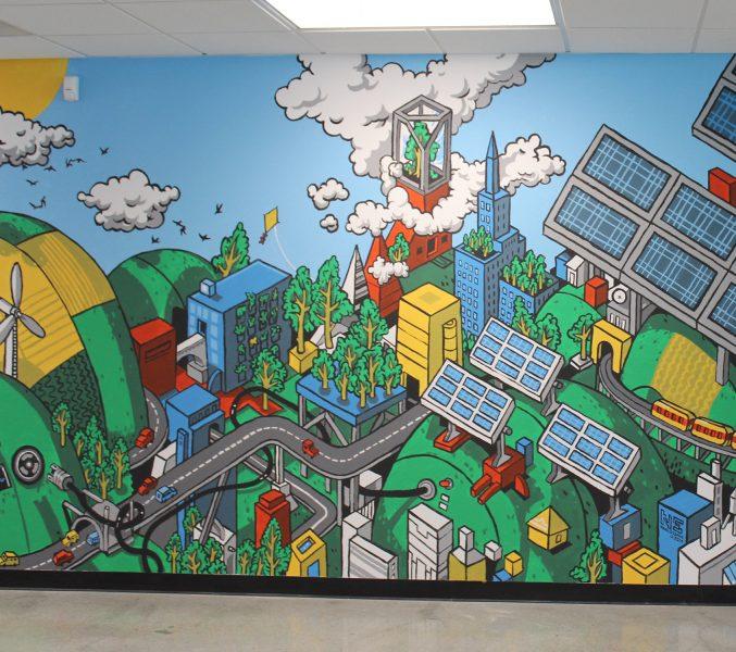 Green Energy Mural
