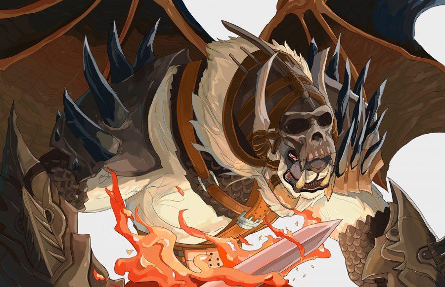 Guild Wars Charr Berserker