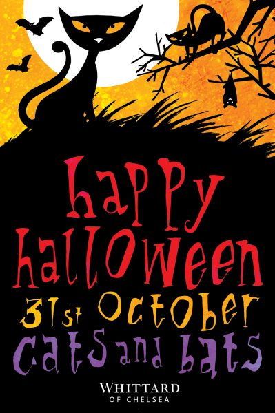 Halloween Poster for Whittards