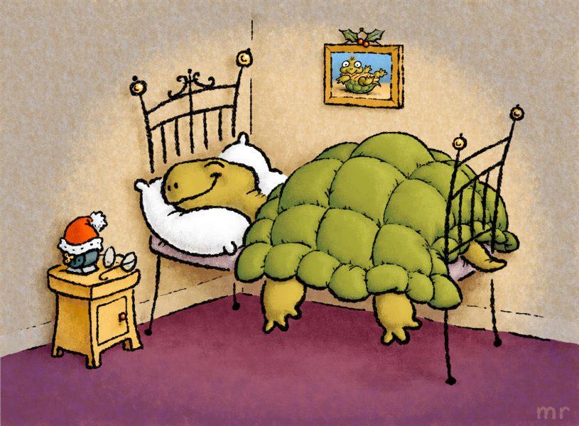 Happy Hibernation (or if you're still awake, Happy Christmas)