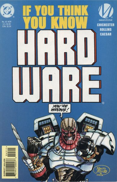 Hardware (DC comics, cover)