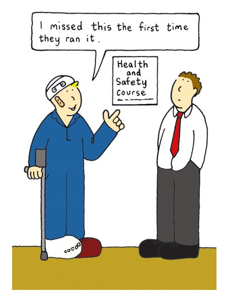 Health and safety in the workplace.