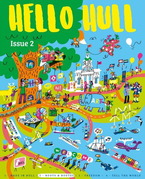 Hello Hull mag #2 / Hull 2017