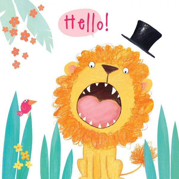 Hello Mr Lion