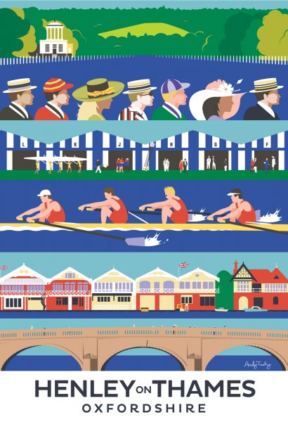 Henley on Thames Regatta Poster