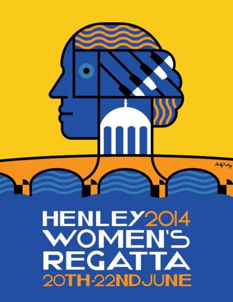 Henley Womens Regatta Poster 2014