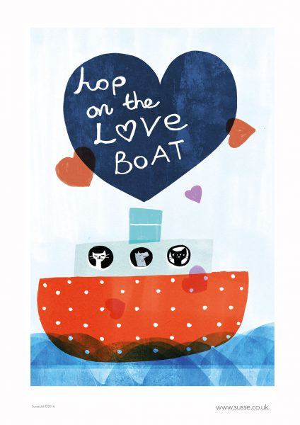 Hop on the Love Boat