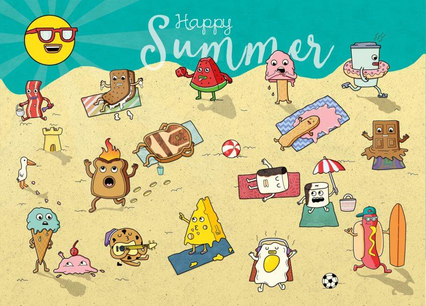 Hotting Up Summer