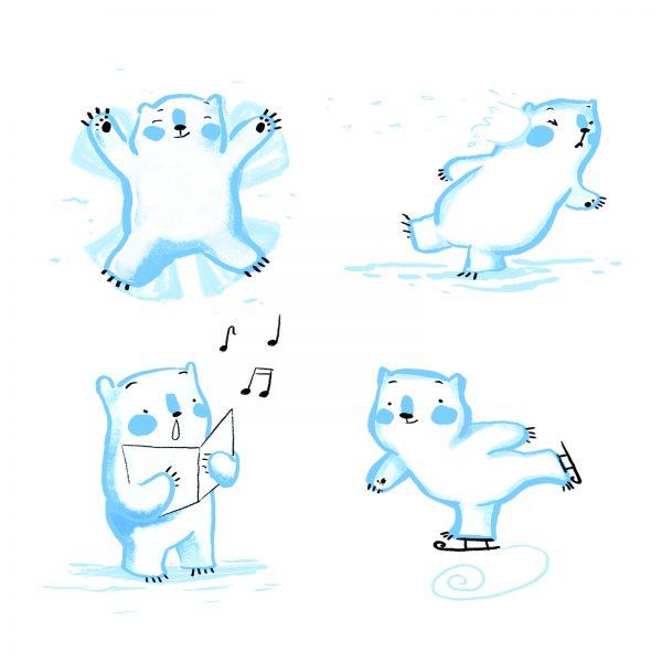 Ice Character Study