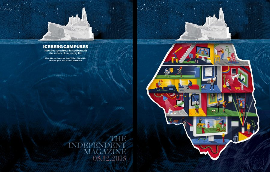Iceberg Campuses / The Independent Magazine