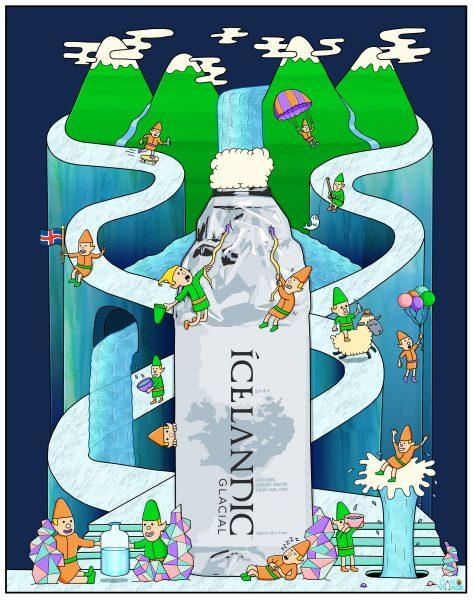 Icelandic Glacial Water Elves Advertisement