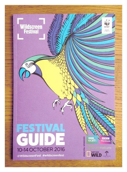 Illustrated animals for publicity materials, Wildscreen Festival, Bristol