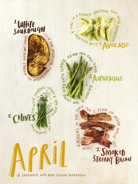Illustrated Sandwich Recipe