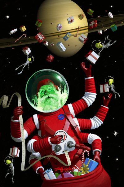 In space no one can hear you jingle