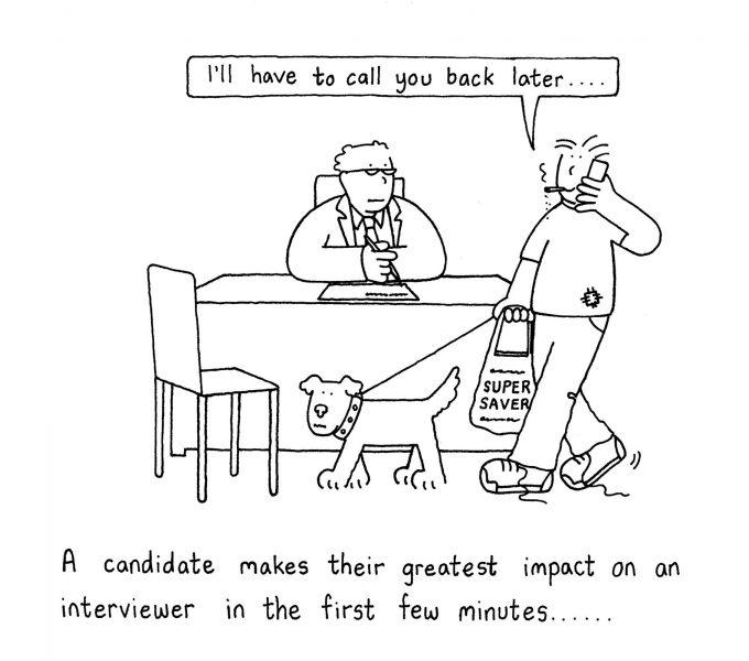 Interviews.